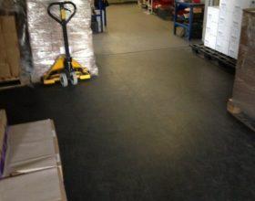 Flexi-Tile PVC Fliesen Industrieboden Beispielanwendung