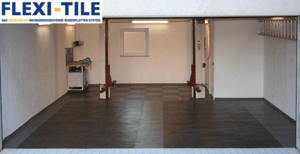 Bildarchiv hammerschlag textured pvc fu bodenbelag - Pvc fliesen garage ...