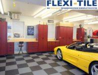 Flexi-Tile PVC Garagenboden Fliesen