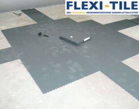 Flexi-Tile PVC Garagenfliesen - Verlegung