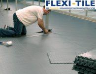 Flexi-Tile - Verlegung PVC-Boden