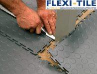 Flexi-Tile - Verlegung PVC Bodenbelag