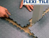 Flexi-Tile - Verlegung PVC Bodenfliesen