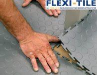 Flexi-Tile - Verlegung PVC Bodenplatten