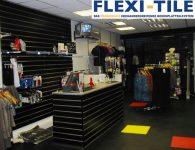 Flexi-Tile als PVC Belag im Gescha¦êft
