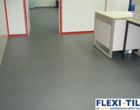 Flexi-Tile als PVC Bu¦êroboden