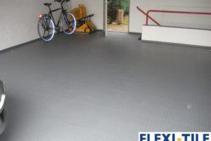 Flexi-Tile als PVC Fliesen als Garagenboden