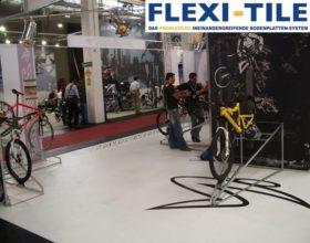 Flexi-Tile als PVC-Fliesen im Ausstellungsbereich