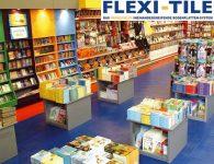 Flexi-Tile als PVC-Fliesen im Ladenbereich