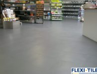 Flexi-Tile als PVC Fliesen im Ladenlokal