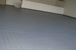 Flexi-Tile als PVC Garagenboden Belag