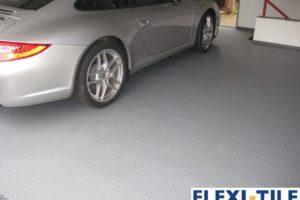 Flexi-Tile als PVC Garagenbodenplatten