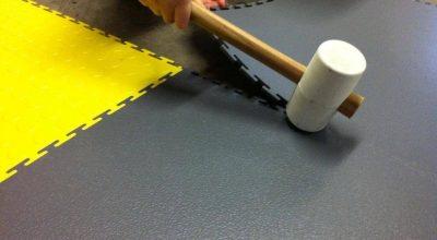 Flexi-Tile einfache und schnelle Verlegung