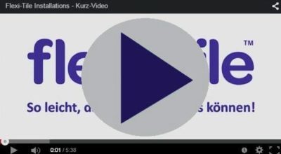 Installations Kurz-Video zu Flexi-Tile