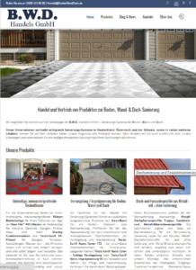 B.W.D.-Firmen-Homepage - www.BodenWandDach.de - Snapshot
