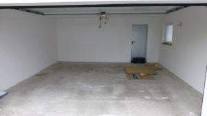 Garagenboden vor Verlegung mit Flexi-Tile