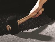 Verlegebeispiel Flexi-Tile Genoppt