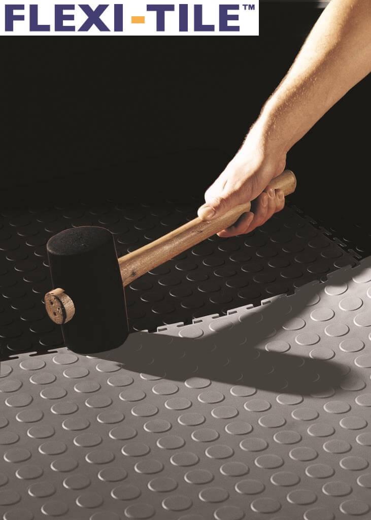 schneller einbau des bodens dank lose verlegter fliesen pvc fu bodenbelag pvc fliesen und. Black Bedroom Furniture Sets. Home Design Ideas