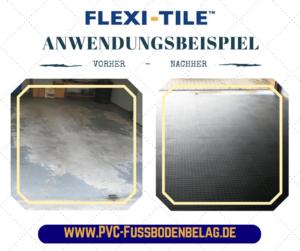 Flexi-Tile ANWENDUNGSBEISPIEL im Garagenbereich - 15155