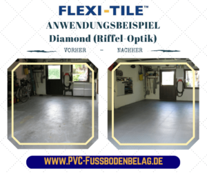 Flexi-Tile Anwendungsbeispiel Diamond (Riffel-Optik) - 14038