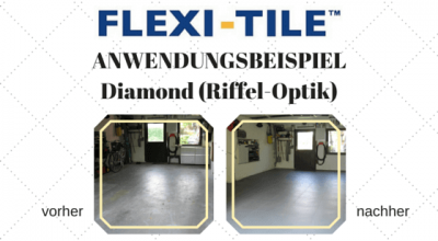 Flexi-Tile Anwendungsbeispiel Diamond (Riffel-Optik) - Blog-Title - 14038