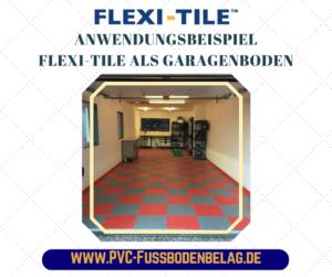 Flexi-Tile Anwendungsbeispiel als Garagenboden - UM