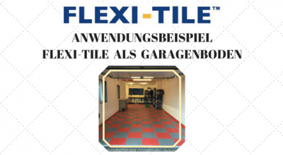 Flexi-Tile als Garagenboden - Unicorn - Title