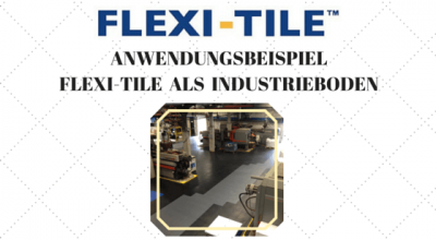 Flexi-Tile als Industrieboden - Title