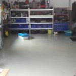 Garage vor der Verlegung mit Flexi-Tiles