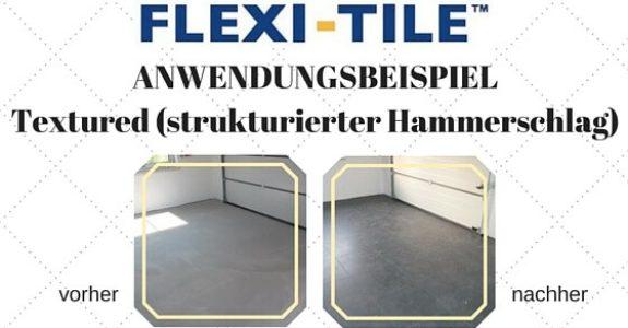 ANWENDUNGSBEISPIEL Textured (strukturierter Hammerschlag) - Titel - 22224