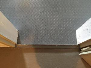 Flexi-Tile Anwendungsbeispiel Diamond (Riffel-Optik) - nachher V - 22290