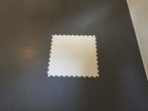 Flexi-Tile Anwendungsbeispiel Diamond (Riffel-Optik) - nachher III - 22290