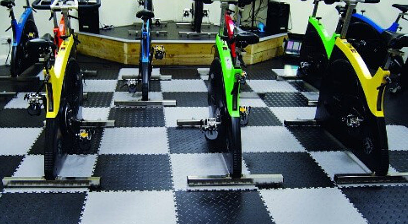 Flexi Tile Fitnessboden Pvc Boden Fur Fitnessstudio Fitnessraum