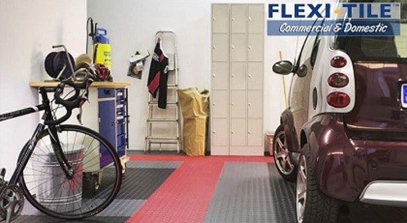 flexi tile diamond pvc bodenfliese f r gewerbe haus garage etc. Black Bedroom Furniture Sets. Home Design Ideas