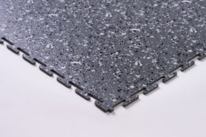 Flexi-Tile Granit Eckansicht Hellgrau