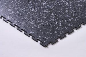 Flexi-Tile Granit Eckansicht Dunkelgrau