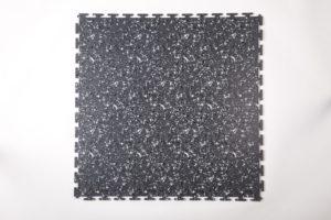 Flexi-Tile Granit Dunkelgrau - Ansicht ganze Fliese