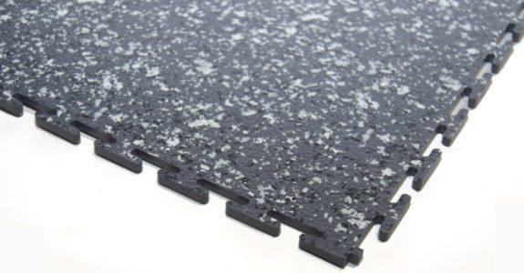 Flexi-Tile HD Granit Dunkelgrau Eckansicht